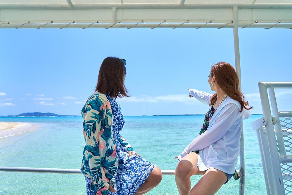 女子旅で石垣島の幻の島を見学