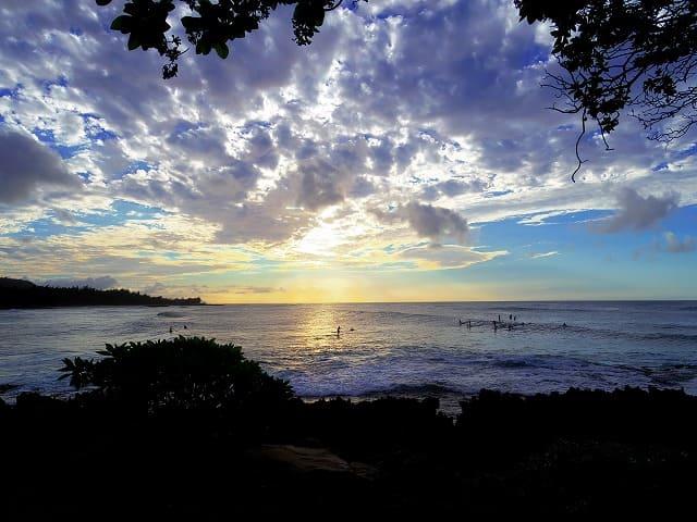 宮古島の日の出を眺める