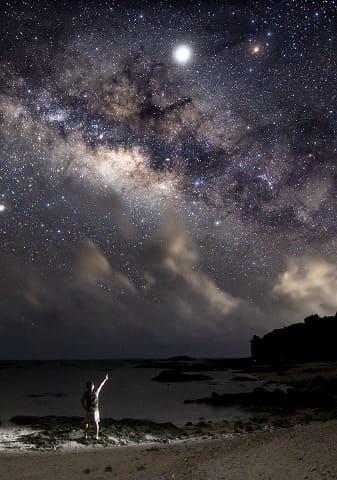 満天の星と石垣島