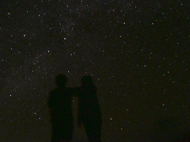 西表島の満天の星空