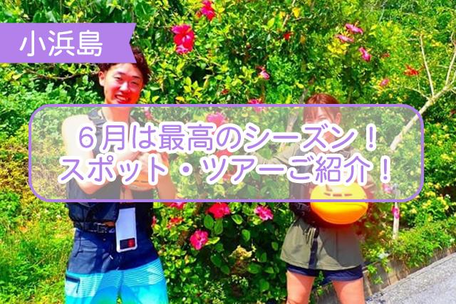小浜島の6月について