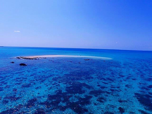 バラス島周辺の海