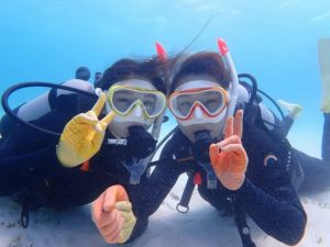 女子旅で体験ダイビング