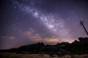 宮古島で見られる天の川