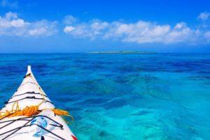 小浜島のシーカヤックで見られる絶景