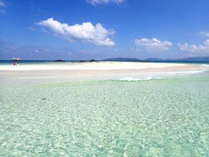 小浜島から行くことができる幻の島