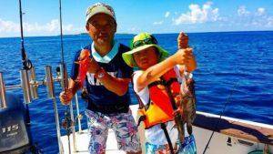 お子様でもたくさん釣れる宮古島の釣りツアー