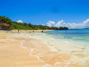 新城島にある北浜というビーチ