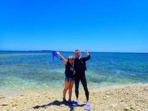 石垣島から船で40分のところにあるバラス島