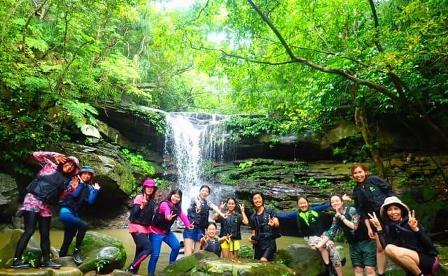 西表島を社員旅行でクーラの滝を満喫