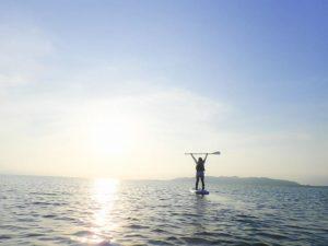 石垣島のサンライズSUP