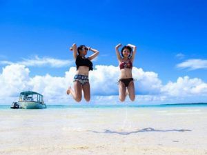 女子旅で石垣島の海を満喫