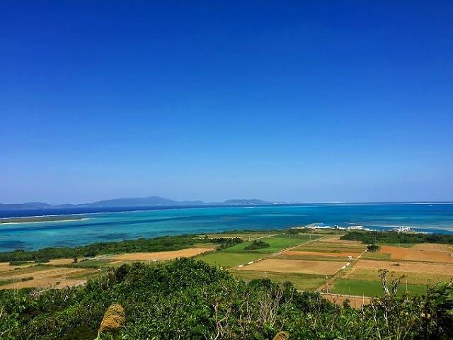 小浜島ののどかな風景
