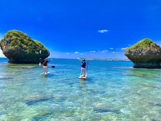 写真映え抜群の沖縄SUPクルージング