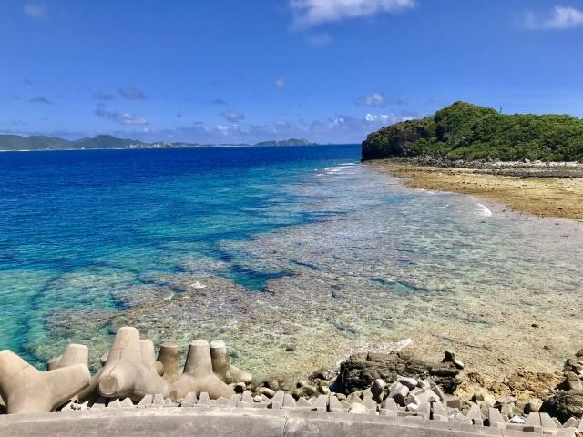 座間味島から眺める海の絶景